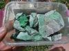1 x Box Mixed Items - Transvaal Jade Chips, Bloodstone,