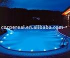 led optical side glow fiber lighting for outdoor & indoor swimming pool design