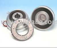 ELECTROMAGNETIC SINGLE-DISC BEARING-MOUNTED CLUTCHES