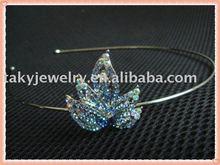 alloy headband,crystal hair band,crystal headband