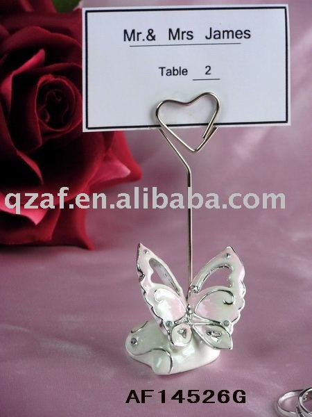 wedding decoration polyresin wedding card holder
