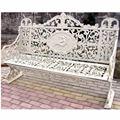 De hierro fundido banco del jardín,/al aire libre muebles del patio, suministros de jardinería