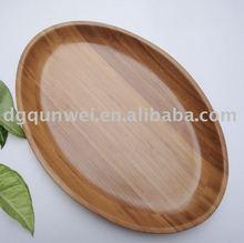 bamboo ellisse piatto