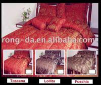 Quilt/comforter/duvet/pillow sham/decorative pillow/bolster pillow/flat sheet/7pcs bedding sets/bedding/textile