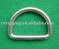 anillo en D del acero inoxidable