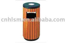 wood plastic composites dustbin