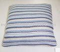 Linha listra e quadrado malha decorativas almofada decorativecushions travesseiros, travesseiros e almofadas, capasdealmofadas