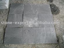 black roofing slate tile