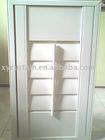 PVC faux wood shutter