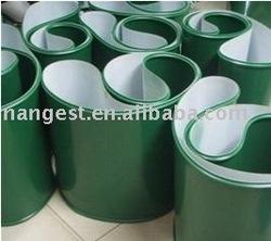 Green Polyvinyl Chloride Conveyor Belt