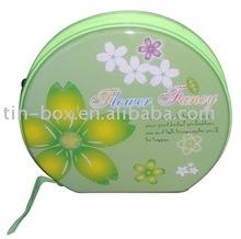 Tin CD Case with Zipper