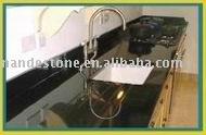 pure black quartz countertop