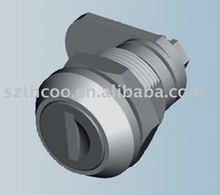 Cabinet door cam cylinder lock