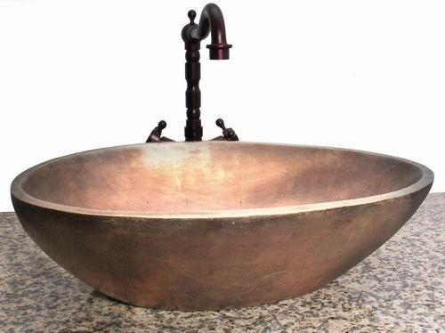 Bathroom Wash Basin : Bronze bathroom wash basin, View Bronze sinks, Granite Product Details ...