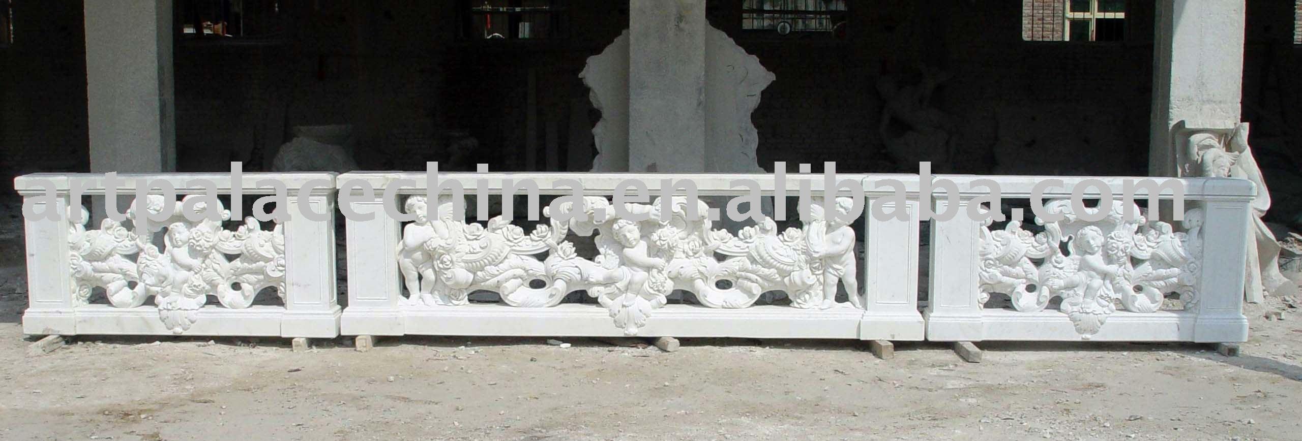 Tina De Baño Traduccion:Piedra balaustrada, Balaustradas de mármol-Barandas y Pasamanos