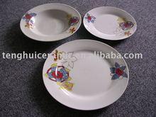 18pcs dinnerware plates porcelain