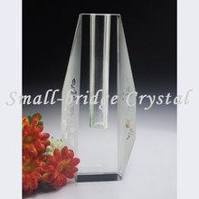 Table decoration lead crystal vase