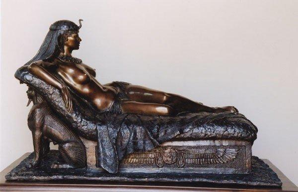 Kleopatra-Skulptur