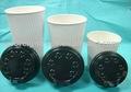 Ripple copo com tampa/ de café de papel copo/ bebida quente copo de papel