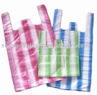 stripe t-shirt bags