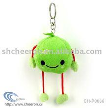 Plush fruit keychain,stuffed fruit keychain,keychain