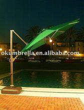 one-side pole led umbrella