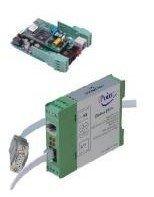 DIN box RS-485/232 to PSTN 56K modem