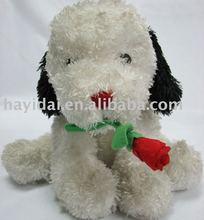stuffed dog plush animal child toy kid toy