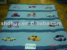 Vehicles machine patchwork quilt