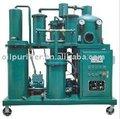 Hidráulico de filtragem de óleo lubrificante processamento / reciclagem / regeneração / tratamento / purificação planta com bomba de vácuo e infravermelho Syste