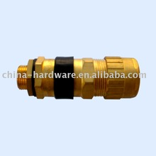 EXD II Brass explosive proof Hazardous Area flame proof armoured bronze marine waterproof cable gland according to Hawke size