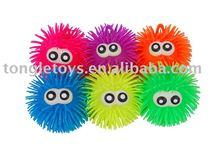 flashing big eye puffer ball