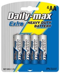 heavy duty Battery carbon zinc dry battery R6P/4B