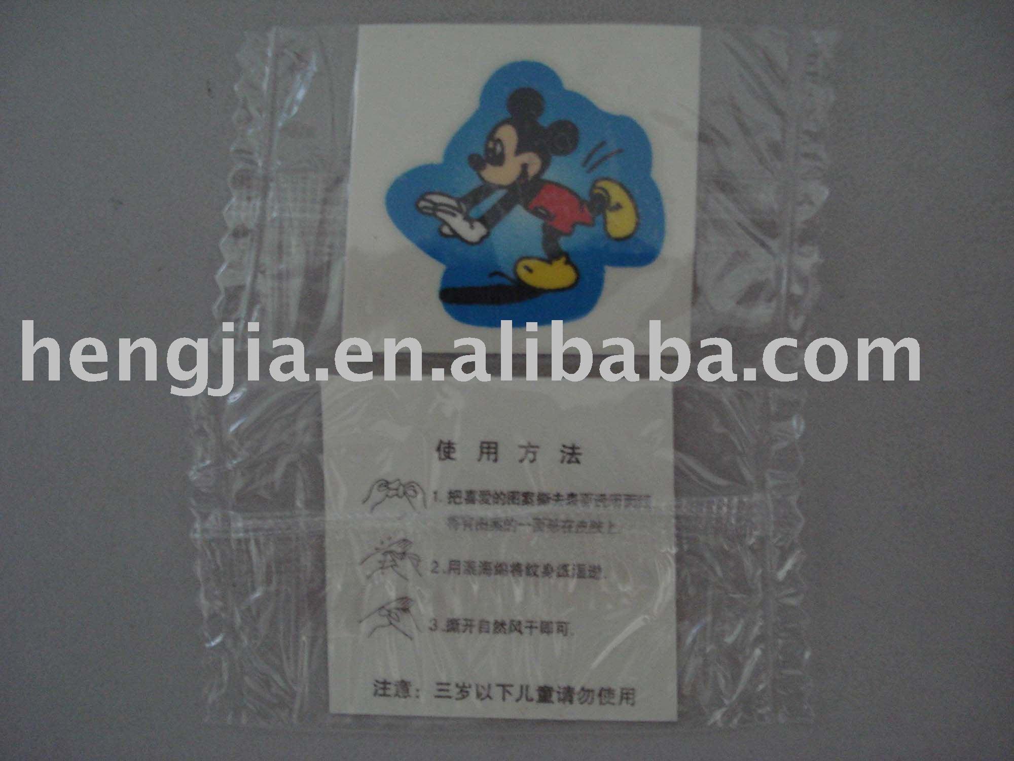 Free Tattoo StickerChina Mainland