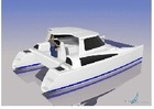 Sea-Tribe 870 Power Cat boat