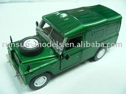 beautiful model car