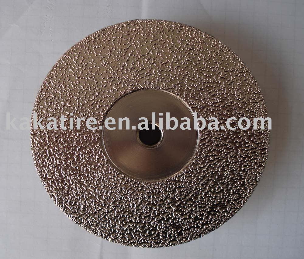 Vacuum Brazed Diamond Wheel(Grinding Disc)/stone tool/diamond cutting disc,abrasive cutting disc/wheel