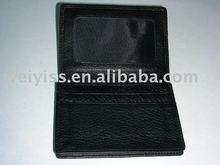 spotlight! factory direct,black imitation leather card case