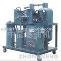Hidráulica de lubrificação de filtragem de óleo tratamento/ reciclagem/ regeneração/ tratamento/ purificação planta com bomba de vácuo e infrare