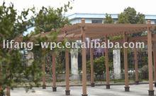 Gardening wpc pergola,post