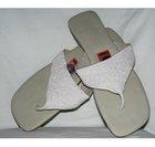Beaded Thong slipper
