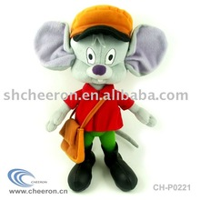 Plush Mouse Toy, Stuffed Cartoon Mouse