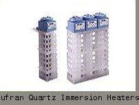 Quartz immersion heater