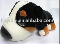 Plush dog toy big head dog