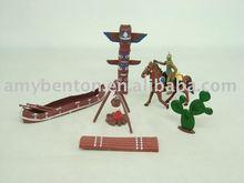 Indian set, indian arma brinquedos, brinquedos de plástico
