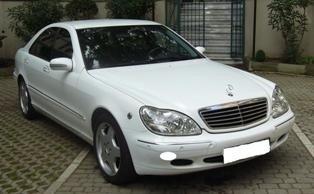 secondhand car 2000 MERCEDES S 320 CDI
