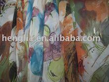 poly chiffon printed/polyester fabric/chiffon fabric