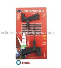 Tire repair tools kit