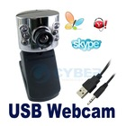 6 LED USB Mic Webcam