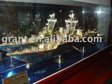 Military war ship model